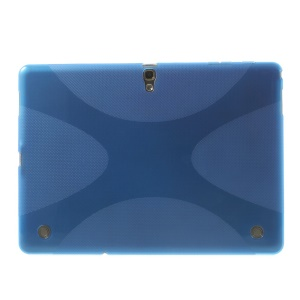 Soft TPU Gel Case X Pattern for Samsung Galaxy Tab S 10.5 T800 T805 - Blue