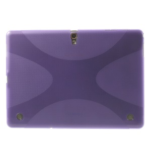 TPU Cover Case X Pattern for Samsung Galaxy Tab S 10.5 T800 T805 - Purple