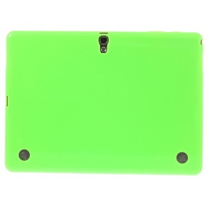 For Samsung Galaxy Tab S 10.5 T800 T805 Glossy Outer Matte Inner TPU Case - Green