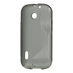 S Shape TPU Gel Case Cover for Huawei Sonic U8650 / U8660