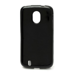 Candy Jelly Gel TPU Case Cover for ZTE Blade 3 III V889M - Black