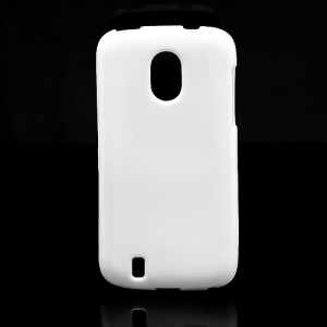 Candy Jelly Gel TPU Case Cover for ZTE Blade 3 III V889M - White