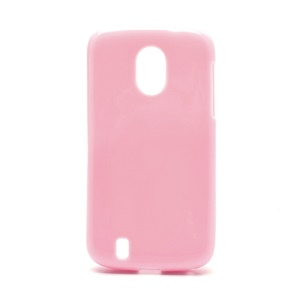 Candy Jelly Gel TPU Case Cover for ZTE Blade 3 III V889M - Pink