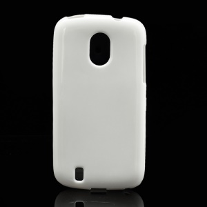 Candy Glittery Powder Gel TPU Case Cover for ZTE V889M Blade 3 III - White