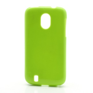 Candy Glittery Powder Gel TPU Case Cover for ZTE V889M Blade 3 III - Green