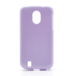 Candy Glittery Powder Gel TPU Case Cover for ZTE V889M Blade 3 III - Purple