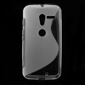 Transparent S-Curve TPU Cover for Motorola Moto X XT1055 XT1056 XT1058 XT1060