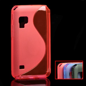 Flexible S TPU Gel Case for Samsung Galaxy S WiFi 5.0 or Galaxy Player 5 / 70 /  YP-GB70