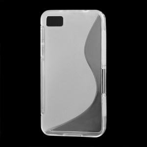 S-Curve TPU Gel Protective Case Shell for BlackBerry Z10 BB 10