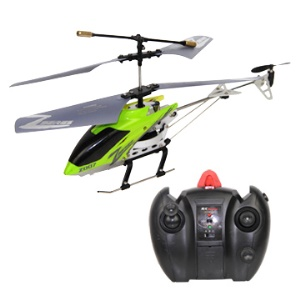 Green Built-in Gyro 3 Channel Mini Remote Control Helicopter Toys Z007