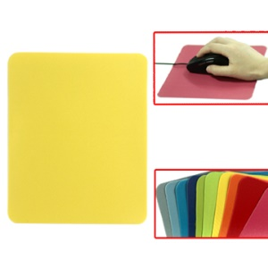 50PCS Multiple Colors Super Thin Profile Cloth Mouse Pad
