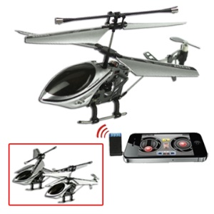 3-Channel iPhone iPad iPod Controlled R/C Helicopter i-Helicopter 777-173