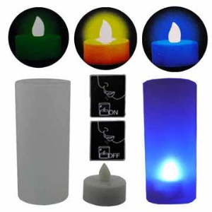 Colorful LED Candle Light