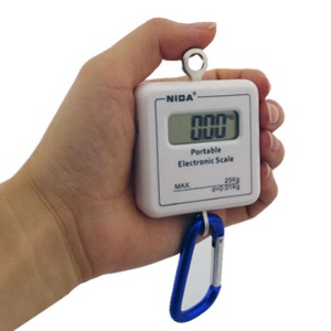 New White Electronic Weight Scale
