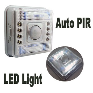 Auto PIR LED Light Infra-red Sensor Motion Detector Lamp ,Super Energy Saving