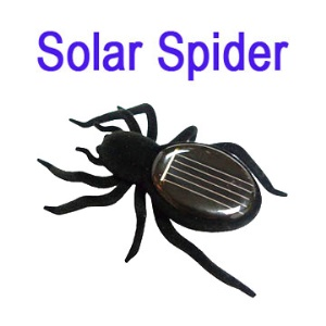 Educational Solar Spider Robot Insect Toy Fun Gift