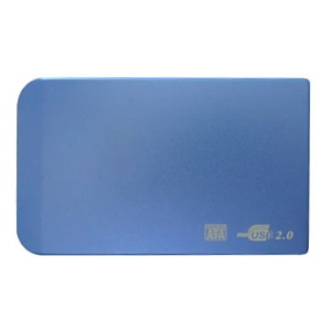 "USB 2.0 External 2.5"" Sata Hard Disk HDD Enclosure Case"
