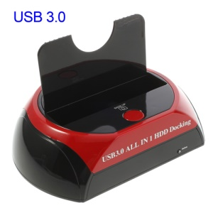 USB 3.0 Hub 2.5/3.5 inch SATA HDD Hard Disk Drive Docking Dock Station,Super-speed 5Gbps max