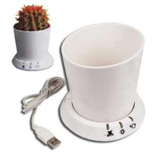 USB Gadgets Lovely Intellectual USB Flowerpot