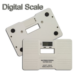 White Multipurpose Digital Electronic Weight Personal Scale with Backlight