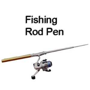 Portable Telescopic Pen Shape Fishing Tackle Rod Pole with Reel and Line