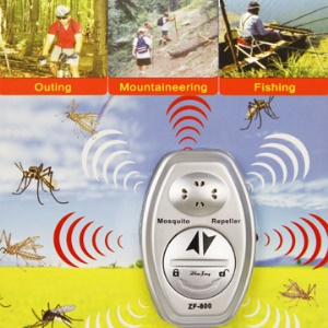 Portable Watch-Type UltraSonic Mosquito Repeller ZF-800