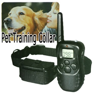 100 Levels Shock and Vibra Remote Pet Dog Training Collar