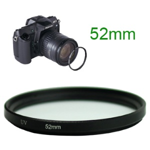 52mm UV Ultra Violet Camera Lens Filter