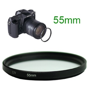 55mm UV Ultra Violet Camera Lens Filter