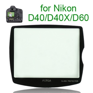 FOTGA Pro Optical Glass LCD Screen Protector for Nikon D40/40X/D60