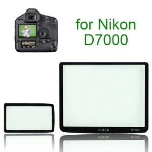 FOTGA Pro Optical Glass LCD Screen Protector for Nikon D7000