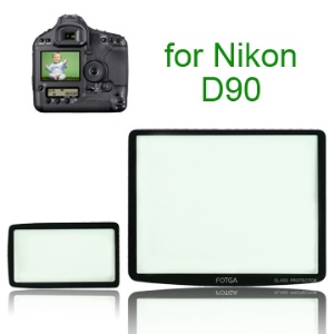 FOTGA Pro Optical Glass LCD Screen Protector for Nikon D90