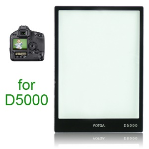 FOTGA Pro Optical Glass LCD Screen Protector for Nikon D5000