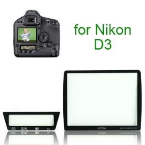 FOTGA Pro Optical Glass LCD Screen Protector for Nikon D3