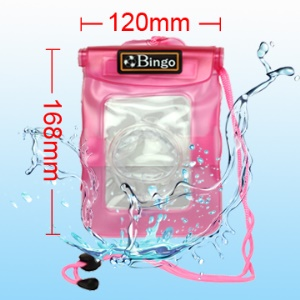 Waterproof Case Bag Pouch for Card Digital Camera, Inner Size: 14.8cm*11.2cm WP-02