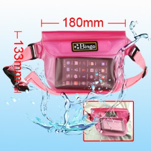 Dry Bag Waterproof Waist Bag for Camera/Mobile Phone/Sundries, Inner Size:17.5cm*13.5cm
