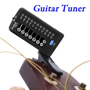 T82G Auto-Led Electronic Acoustic Digital Guitar Tuner with Clip