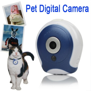 Digital Clip-on Pet Eye View Camera Monitor for Dog Cat 0.3 Megapixel