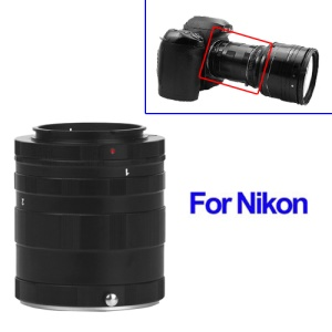 Extension Tube Ring for Nikon AF Ai DSLR & SLR