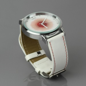 Stylish Women Analog Watch with Dyed Dial - Red