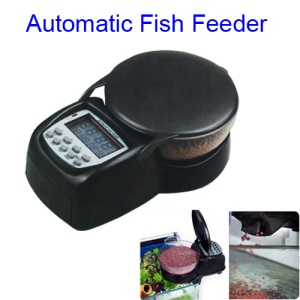Automatic Digital Aquarium Tank Fish Food Feeder Timer