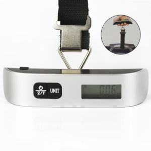 50 kg /110 lb Portable Digital Luggage Hanging Scale