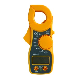 Portable Professional Digital Clamp Meter AC AMP Tester