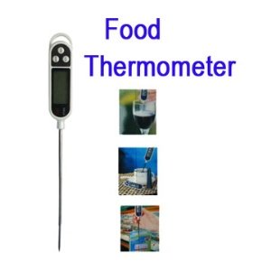 Digital LCD Thermometer Food Temperature Sensor Probe