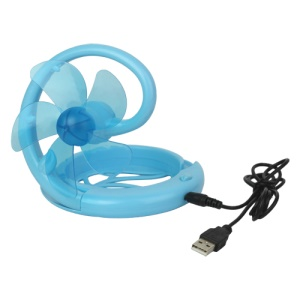 Cute Portable PC USB Powered Cooling Folding Mini Desktop Fan