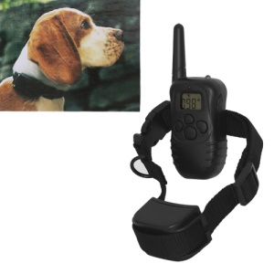 LCD Waterproof Rechargeable No Bark Shock Remote Dog Training E-Collar