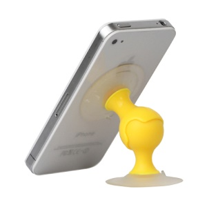 Dual Suction Stand Car Holder for iPhone HTC Samsung Smartphones etc