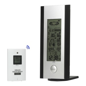 9-in-1 Multi-function Digital Barometer Alarm Clock Thermometer Hygrometer for Indoor Outdoor