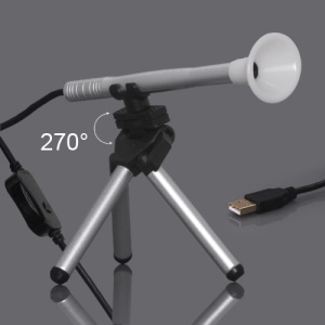 Portable 200X LED Digital USB Microscope, Support Photo and Video Recording