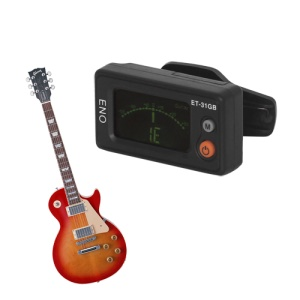 ET-31GB Clip-on Digital Chromatic Guitar Tuner LCD Display